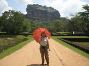Anita Sanchez in Sri Lanka